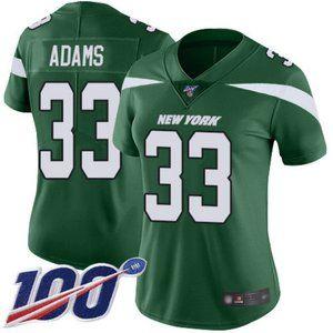 Women Jets Jamal Adams 100th Season Jersey